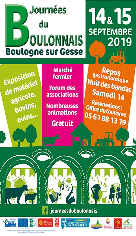 Affiche Journées du Boulonnais