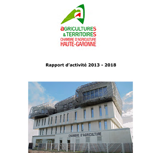 Rapport d 39 activit de la chambre d 39 agriculture 2013 2018 chambre d 39 agriculture haute garonne - Chambre agriculture haute saone ...